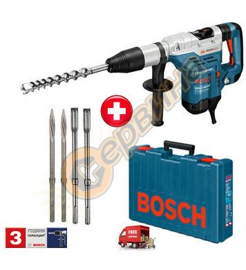 Комбиниран перфоратор Bosch GBH 5-40 DCE 0611264008 + 2 сека