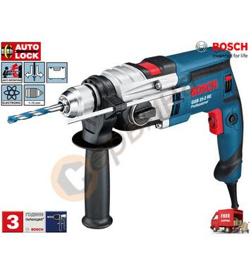 Двускоростна ударна бормашина Bosch GSB 19-2 RE 060117B500 -
