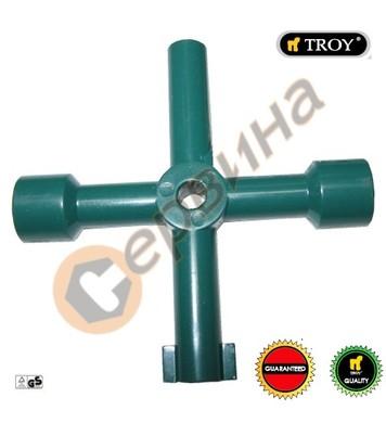 Кръстат ключ за електрически кутии TROY T24000