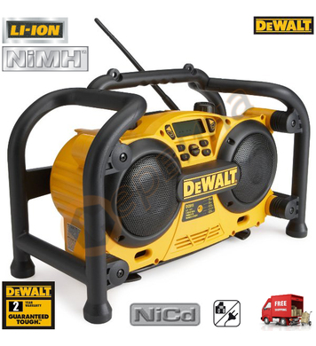 Акумулаторно радио DeWalt DC011 - 7.2V-18V - NiCd/NiMH