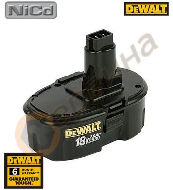 Акумулаторна батерия DeWalt DE9095 - 18V/2.0Ah NiCd