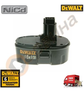 Акумулаторна батерия DeWalt DE9096 - 18V/2.4Ah NiCd