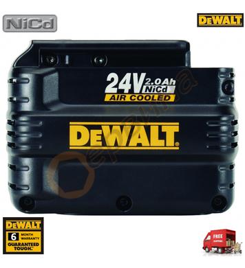 Акумулаторна батерия DeWalt DE0243 - 24V/2.0Ah NiCd
