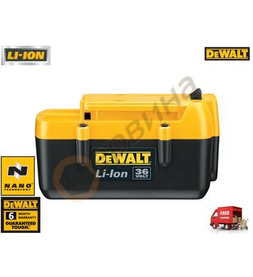 Акумулаторна батерия DeWalt DE9360 - 36V/2.2Ah Li-Ion