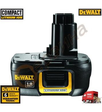 Акумулаторна батерия DeWalt DE9181 - 18V/1.1Ah Li-Ion