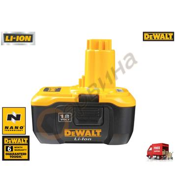 Акумулаторна батерия DeWalt DE9180 - 18V/2.0Ah Li-Ion