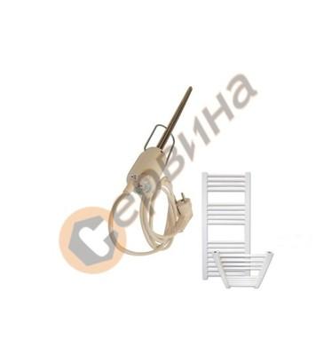 Нагревател за лира ф12, 350мм 300W - бял 5618001