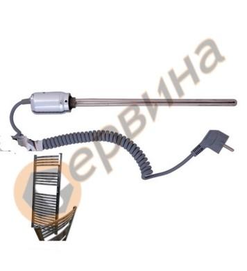 Нагревател за лира ф12, 550мм 600W - хром 5618004