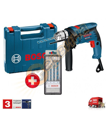 Ударна бормашина Bosch GSB 13 RE Professional 0601217103 + К