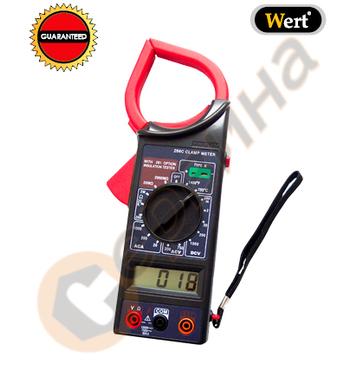 Амперметър тип клещи WERT W2451