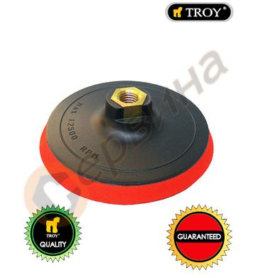 Пластмасов диск за шлайфане TROY T27911 - 125мм