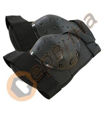 Наколенки гумени с PVC Decorex GU01 230х150мм - 2броя 24256