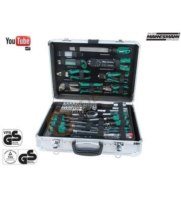 Сервизен куфар с инструменти Mannesmann M29075 - 108 части