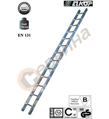 Алуминиева еднораменна стълба Elkop VHR H - 1x16бр