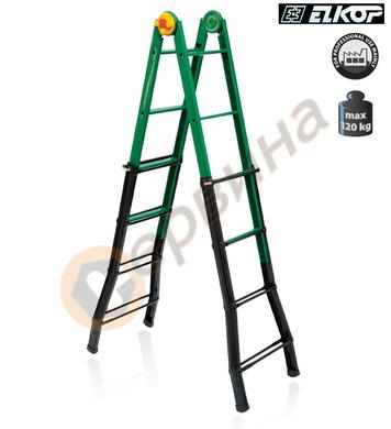 Многофункционална стоманена стълба Elkop B 33 - 3x3бр