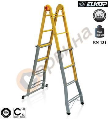 Многофункционална стоманена стълба Elkop B 44 FS - 4x4бр