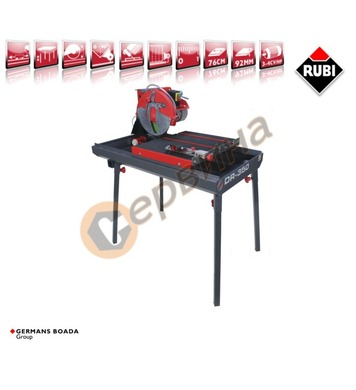 Машина за рязане с вода Rubi DR-350 56940 3.4CV/Hp