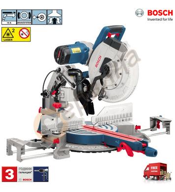 Настолен циркуляр Bosch GCM 12 GDL 0601B23600 - 2000W