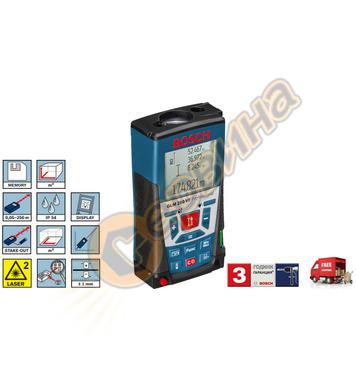Лазерен далекомер - ролетка Bosch GLM 250 VF 0601072100 - 25