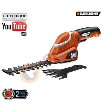 Акумулаторна ножица за трева и храсти Black&Decker GSL700 -