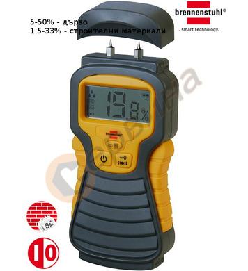 Влагомер Brennenstuhl MD 1298680 - дърво 5-50%  строителни м
