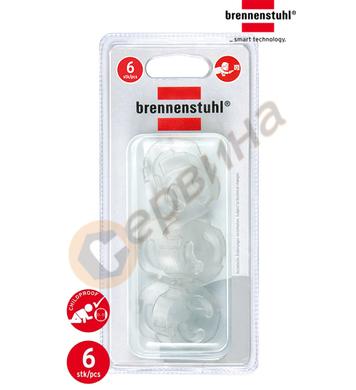 Защитна капачка Brennenstuhl 1164480 - 6бр