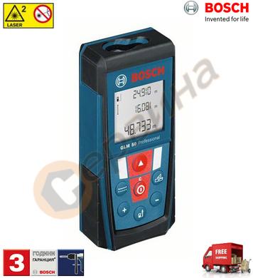 Лазерна ролетка Bosch GLM 50 GLM50 0601072200 - 50метра