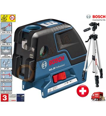 Лазерен нивелир Bosch GCL 25 Professional 0601066B01