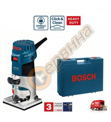 Фреза за кантове Bosch GKF 600 Professional 060160A100 - 600
