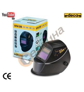 Маска за електрожен шлем фотосоларен Deca WM28 DIN 9-11 0103