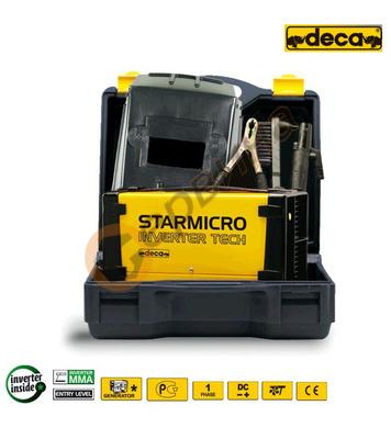 Електрожен инверторен Deca StarMicro 180 279580 150A с аксес