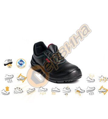Работни обувки Panda Monza с метално бомбе  96239 S3 SRC