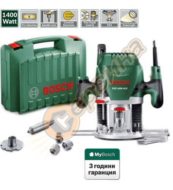 Оберфреза Bosch POF 1400 ACE 060326C820 - 1400W