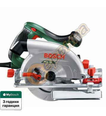Ръчен циркуляр Bosch PKS 55  0603500020 - 1200W