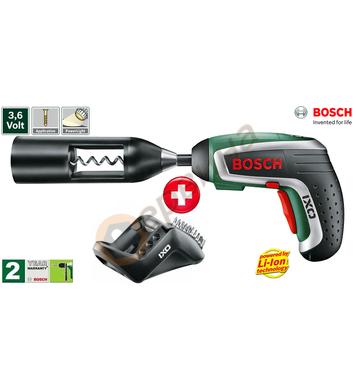 Акумулаторна отвертка Bosch IXO IV Vino 0603981020 - 3.6V/1.