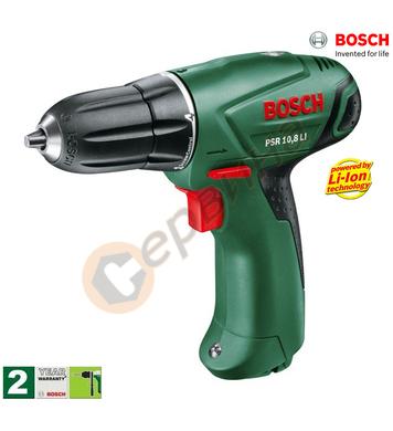 Акумулаторен винтоверт Bosch PSR 10.8Li-Ion 0603954020 - 10.