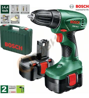 Акумулаторен винтоверт Bosch PSR 14.4V 0603955421 - 14.4V/1.