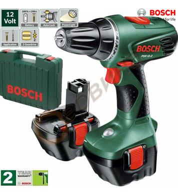 Акумулаторен винтоверт Bosch PSR 12-2 0603951J21 - 12V/1.2Ah