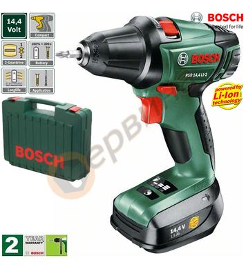 Акумулаторен винтоверт Bosch PSR 14.4 Li-2 0603973420 - 14.4