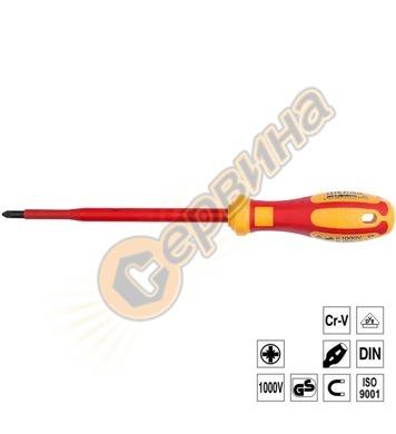 Отвертка C-PLUS VDE 1000V звезда PZ0x60мм Ceta Form G03-000-