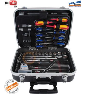 Сервизен куфар с инструменти Projahn 4963-01 - 130 части