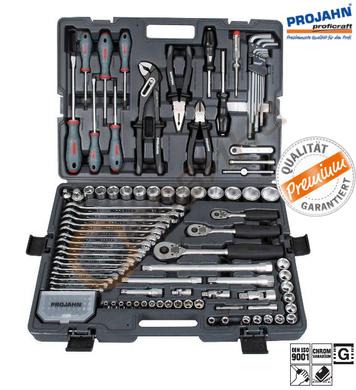 Комплект професионални инструменти Projahn 4042 - 122 части