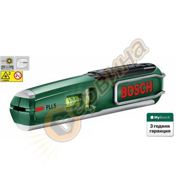 Лазерен нивелир Bosch PLL 5 0603015020 - 5 метра