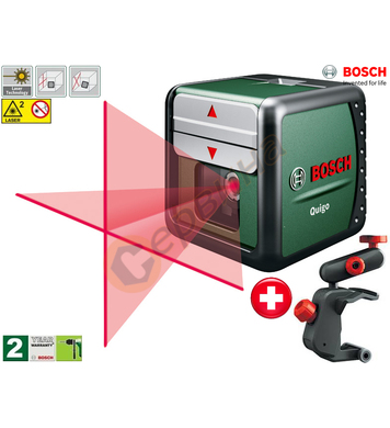 Лазерен нивелир Bosch Quigo 11-EEU 0603663220 - 7 метра