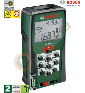 Лазерна ролетка Bosch PLR 50 0603016320 - 50м