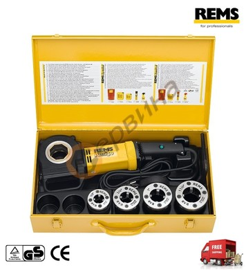 Винторезка електрическа с 4 глави Rems Amigo 1/2 до 1 1/4 53
