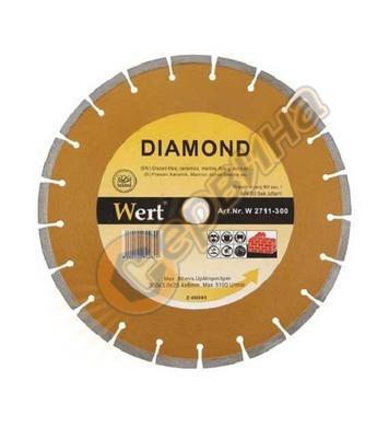 Диамантен диск Wert W2711-180 - 180x22,23мм