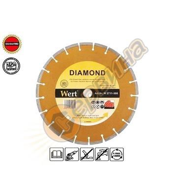 Диамантен диск Wert W2711-350 - 350x22,23мм