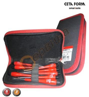 Комплект отвертки за електроника CetaForm 8бр. 7000/8ST1
