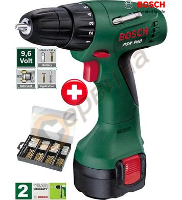 Акумулаторен винтоверт Bosch PSR 960 0603944691 - 9.6V NiCD